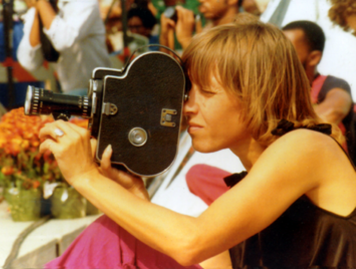 Leni Sinclair in 1980