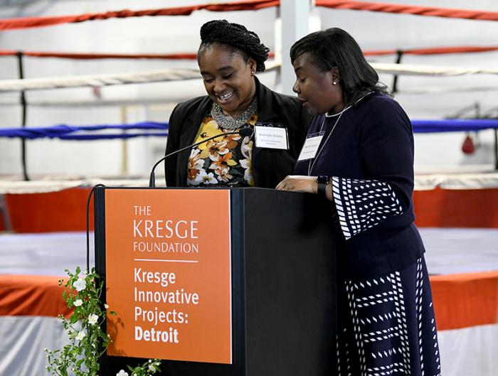 Photo of Kresge Innovative Projects: Detroit celebration