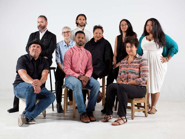 The 2014 film/theater fellows grouped together
