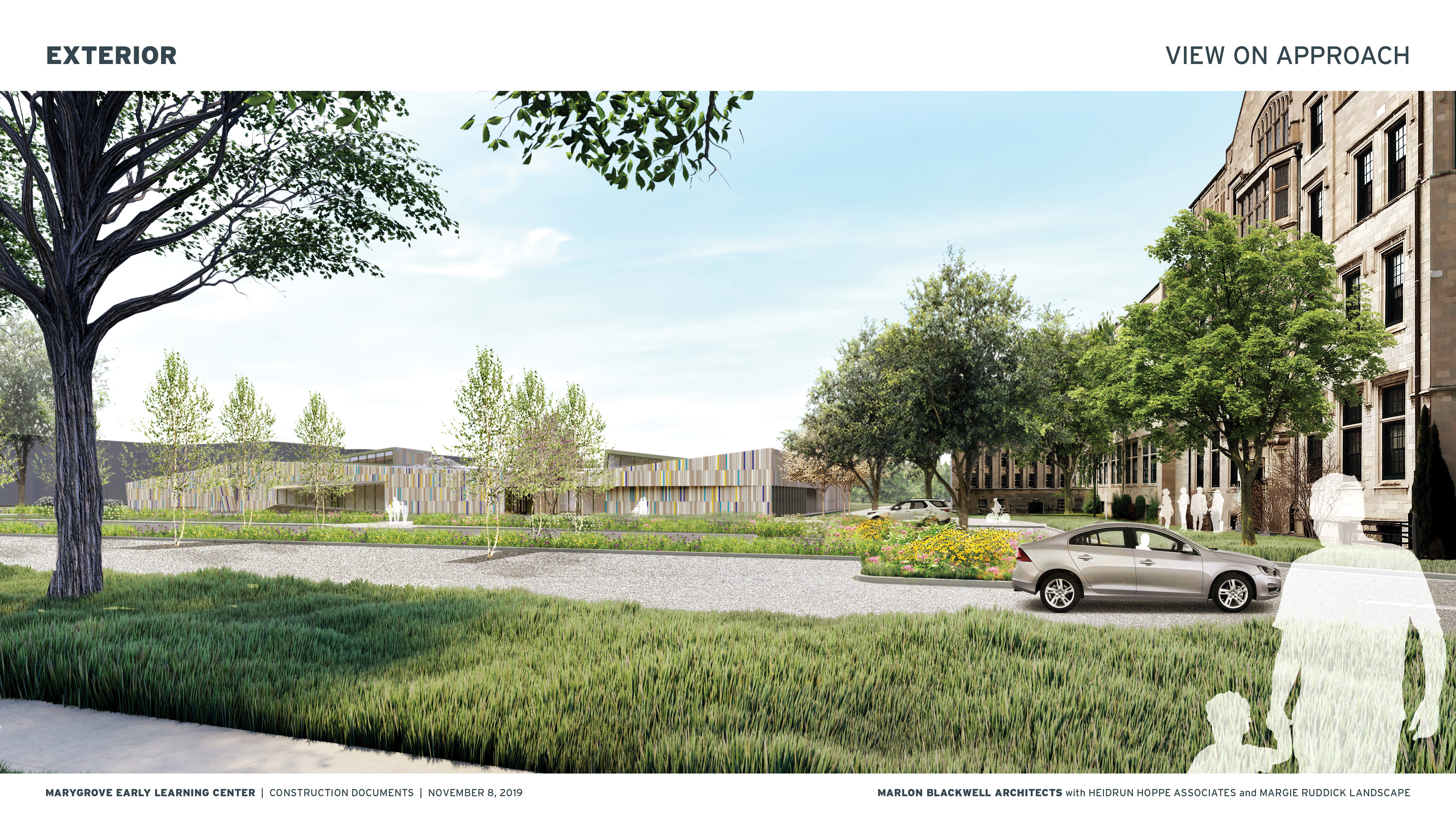 Rendering of Early Childhood Education center to open in 2021.