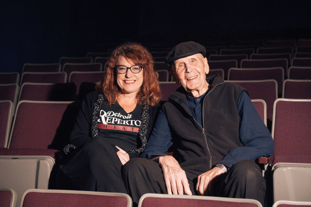 Leah Smith and Bruce Millan of Detroit Rep