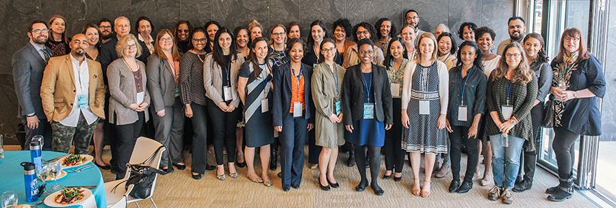 2018 cohort of leadership training