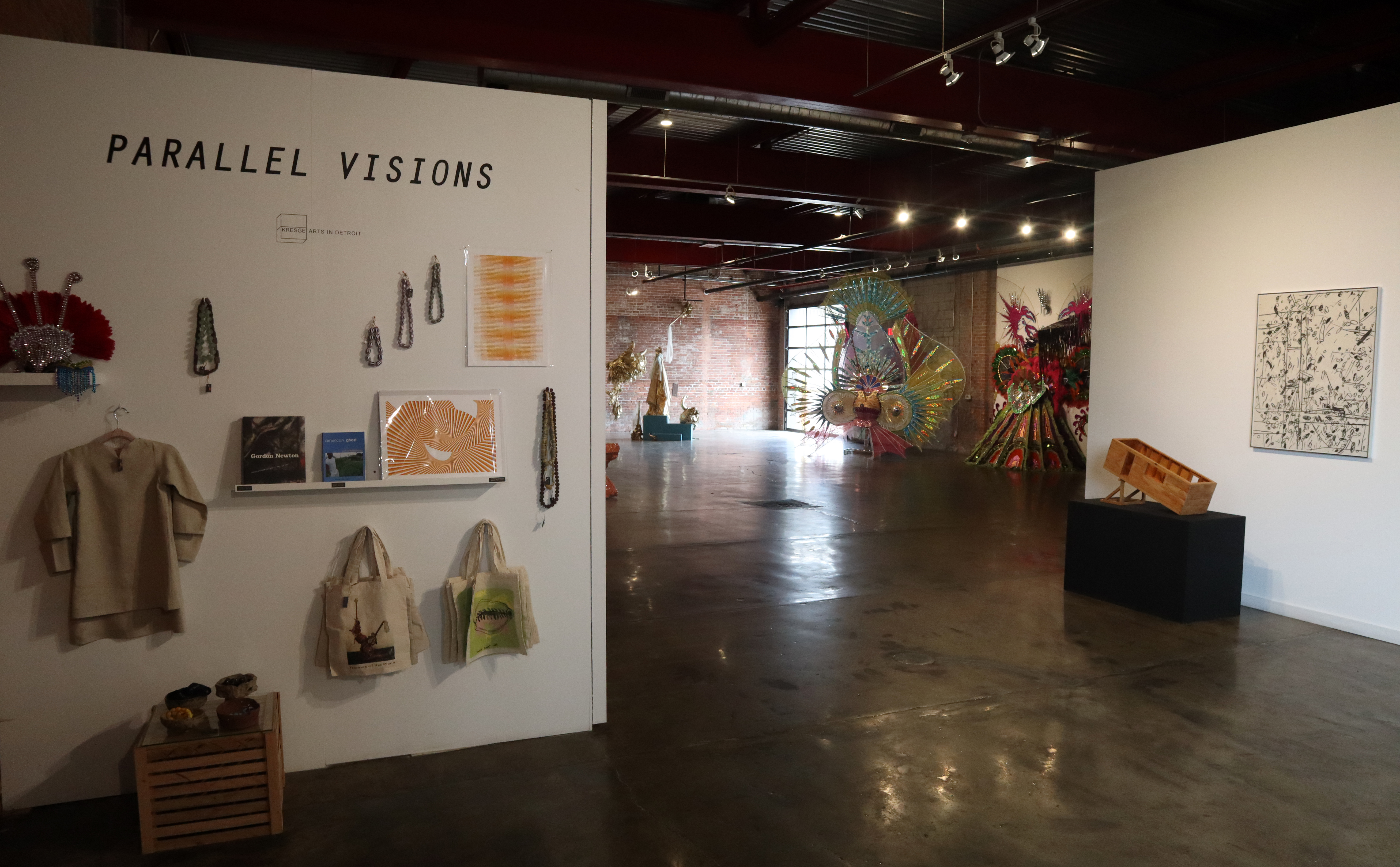 Wasserman Projects exhibit called 'Parallel Visions'