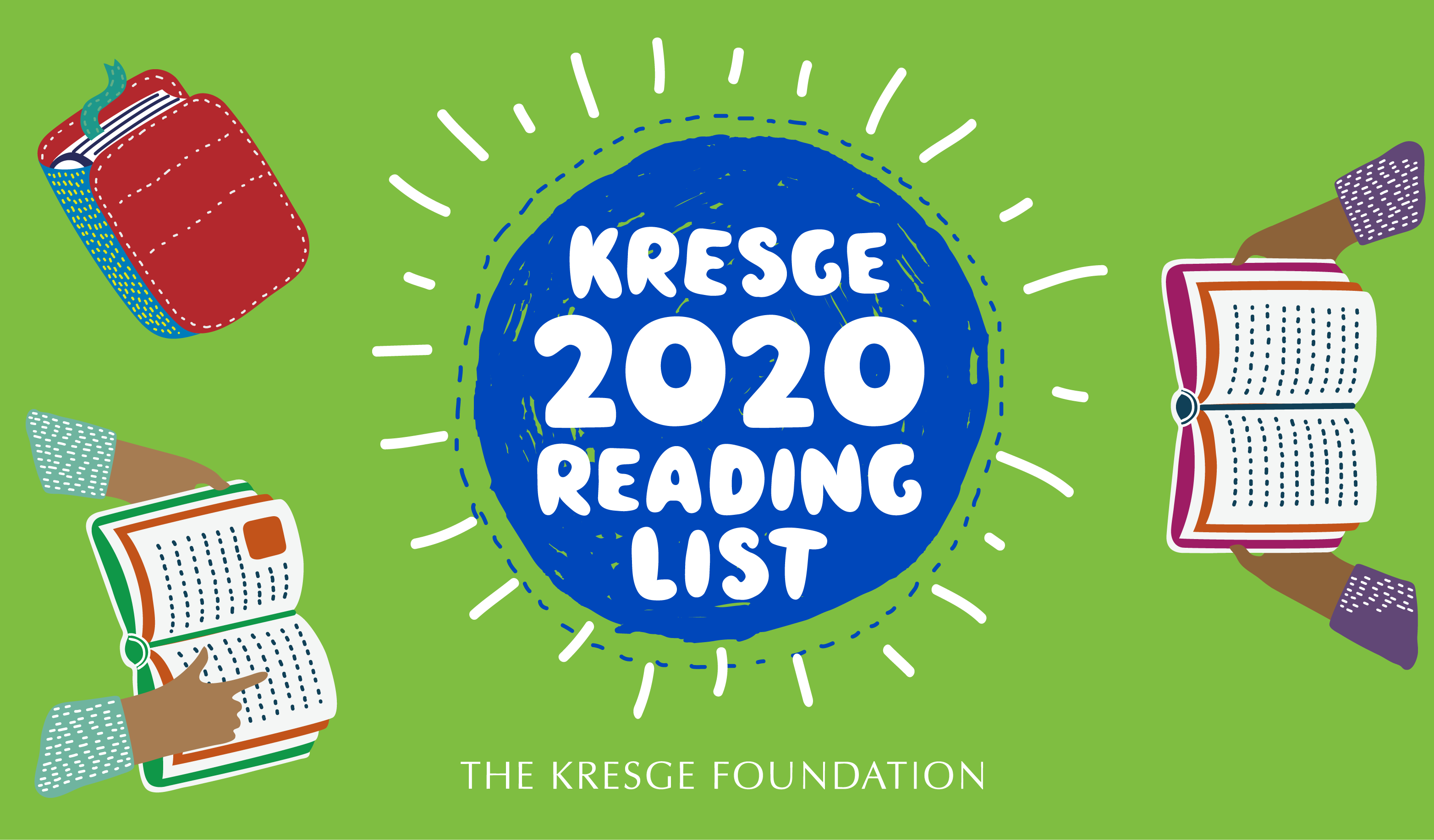 2020 reading list graphic