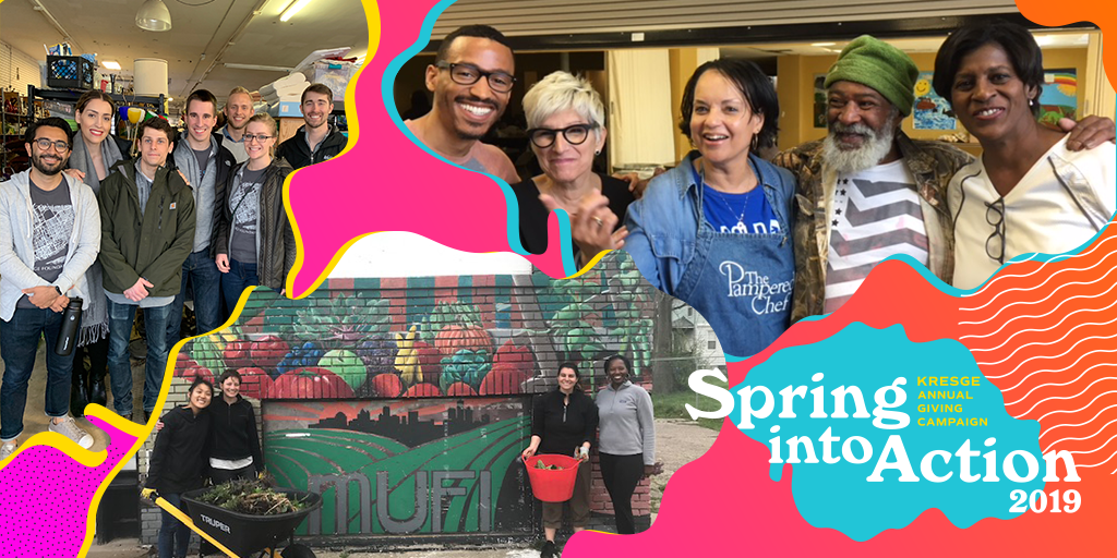 Kresge's Spring into Action campaign