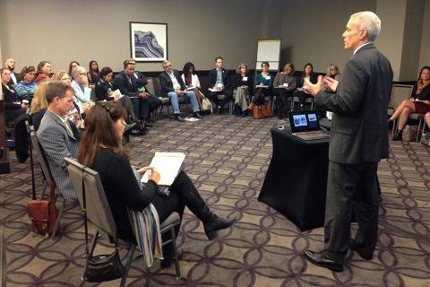 Kresge's Chris Kabel discusses the foundation's FreshLo initiative.