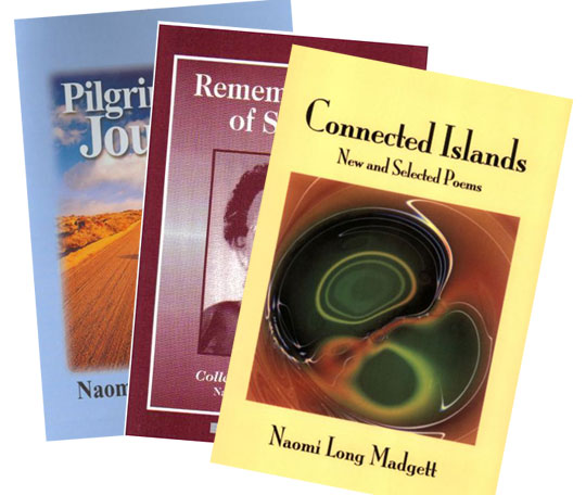 'Pilgrim Journey,' 'Remembrances of Spring,' and 'Connected Islands' are among Madgett's collections.
