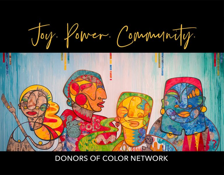 Donors of Color Network graphic