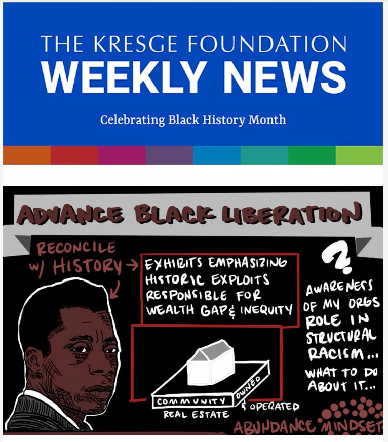 The Kresge Foundation weekly newsletter for 2-25-2021