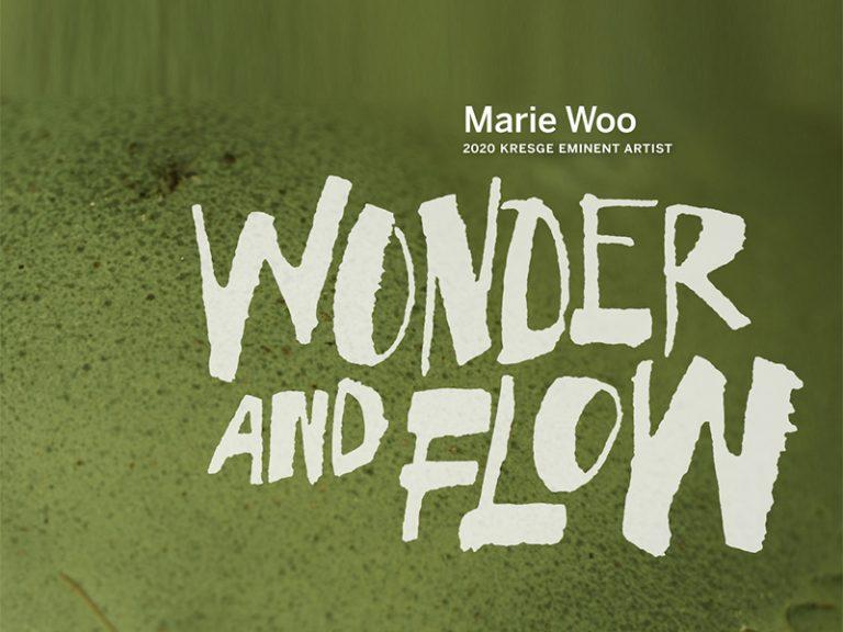 Kresge Eminent Artist Marie Woo monograph: Wonder and Flow